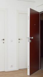 installation porte bicolore et blindée