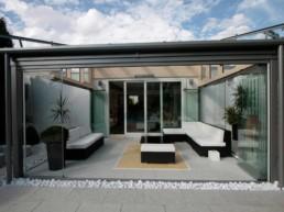 installation mur de verre terrasse sur-mesure à cannes