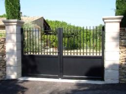 installation portail sur-mesure mva
